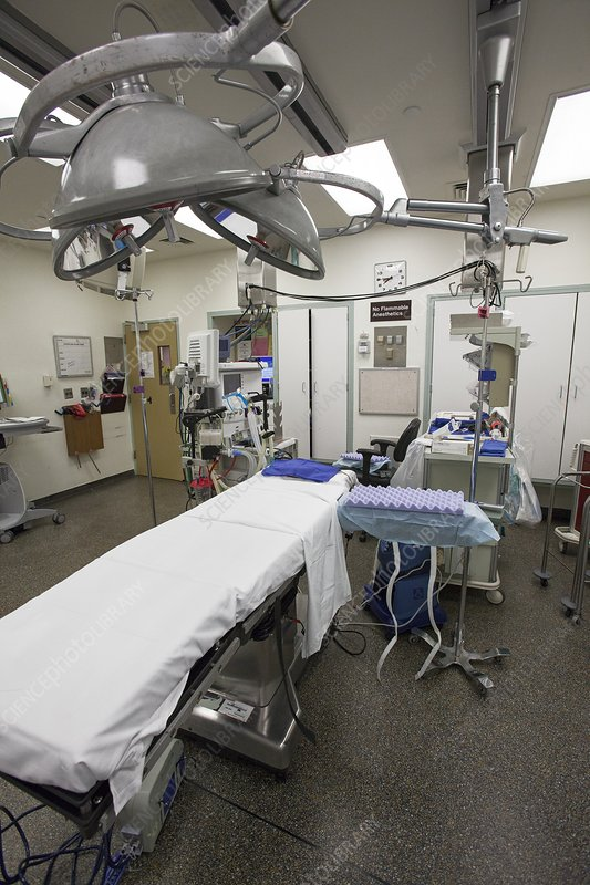 Operating room prior to surgery