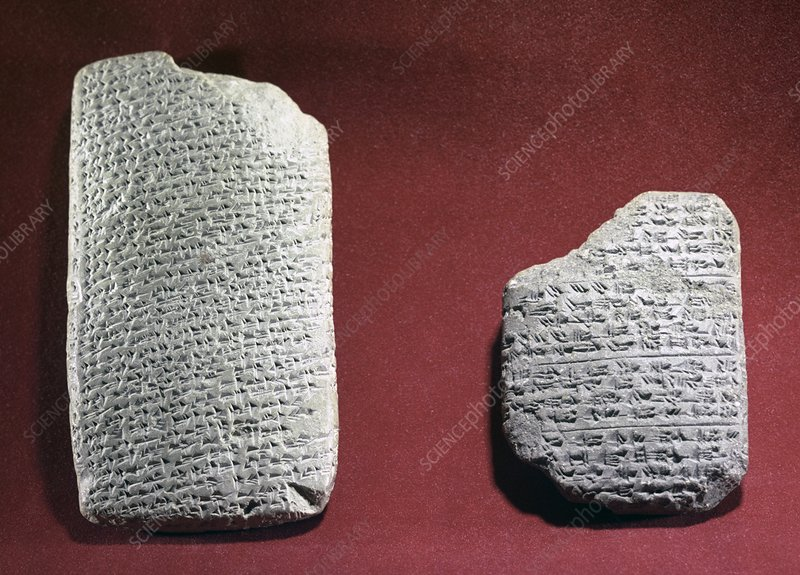 Ancient Egyptian tablets