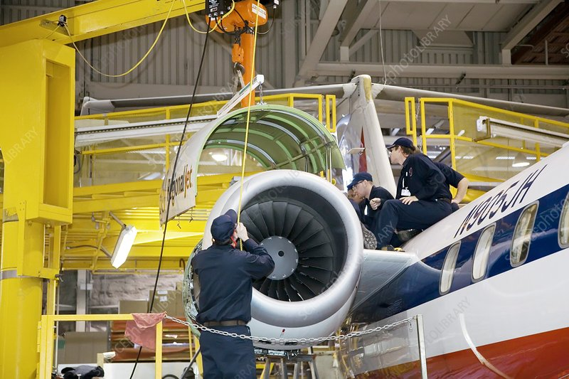 Aircraft maintenance training