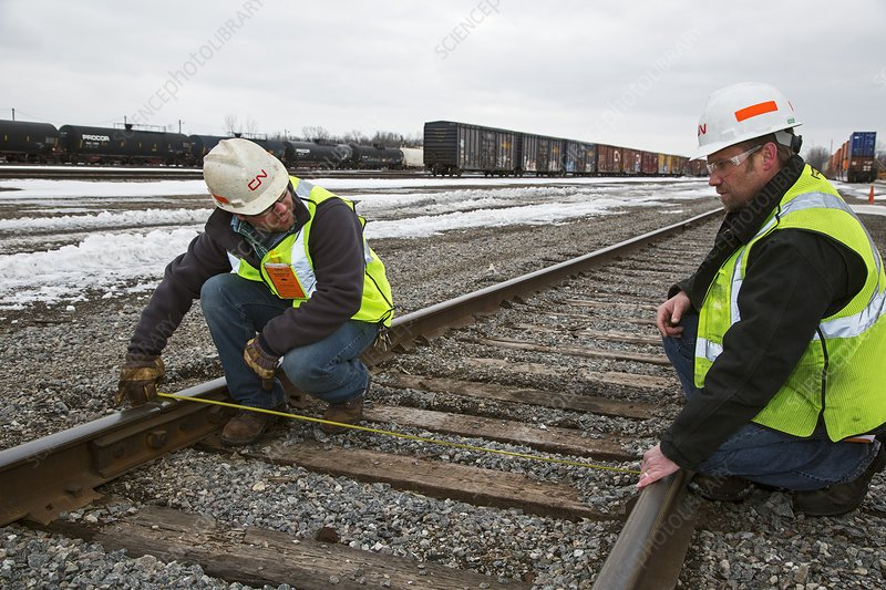 Rail yard track maintenance