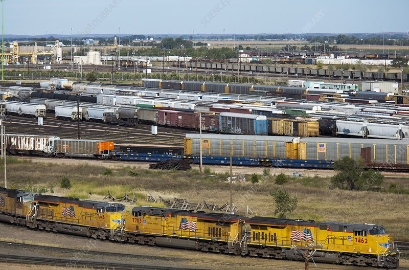 Union Pacific Railroad's Bailey Yard