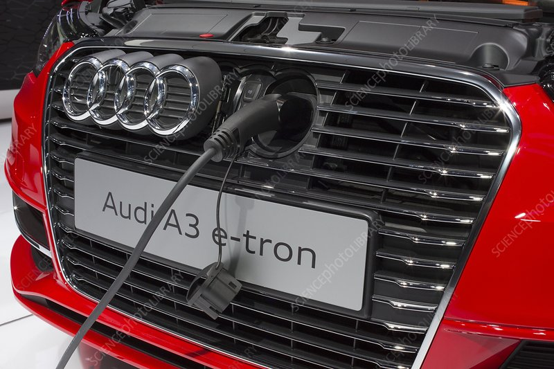Audi A-3 e-tron electric car