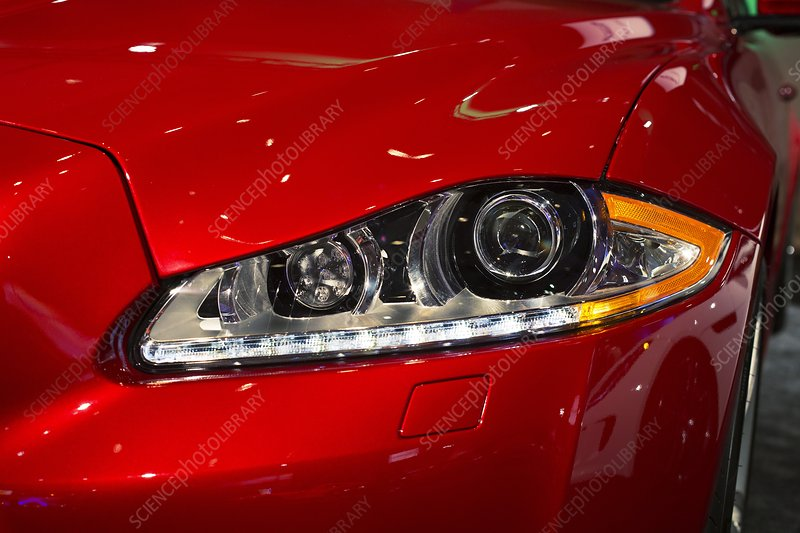 Jaguar XJR headlights