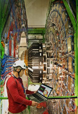 Large Hadron Collider - the CMS Detector