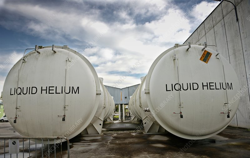 Helium tanks at CERN