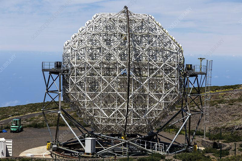 MAGIC telescope, La Palma, Spain