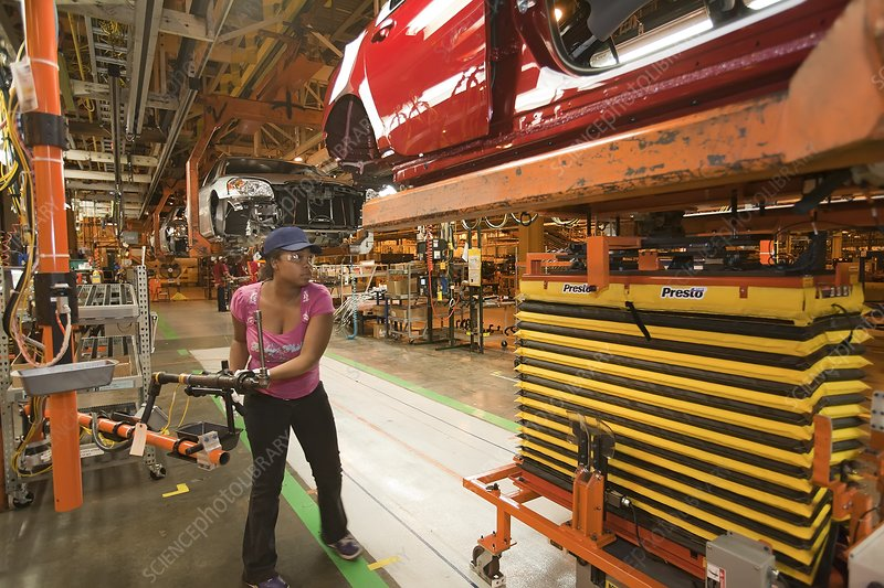 Chevrolet Volt assembly line