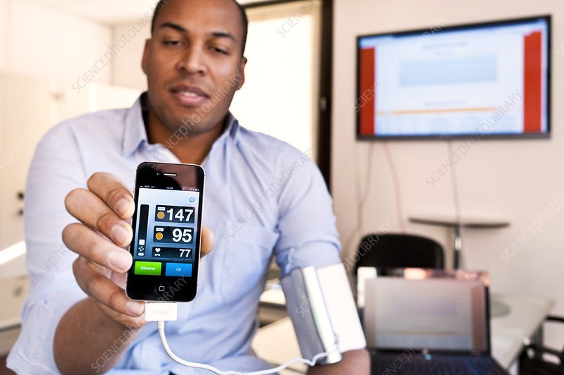 Smartphone blood pressure monitor