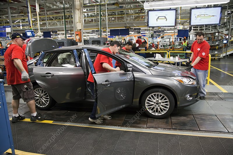 Ford Focus assembly line