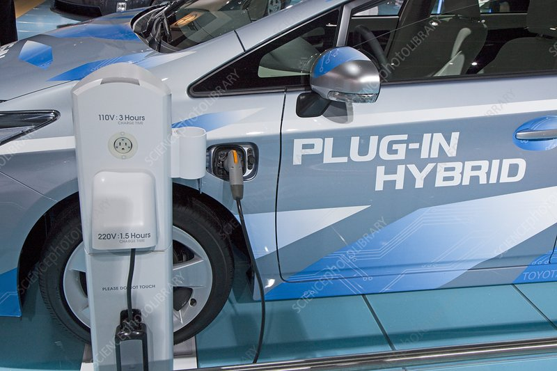 Toyota Prius electric car