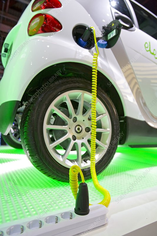 Smart Fortwo electric car
