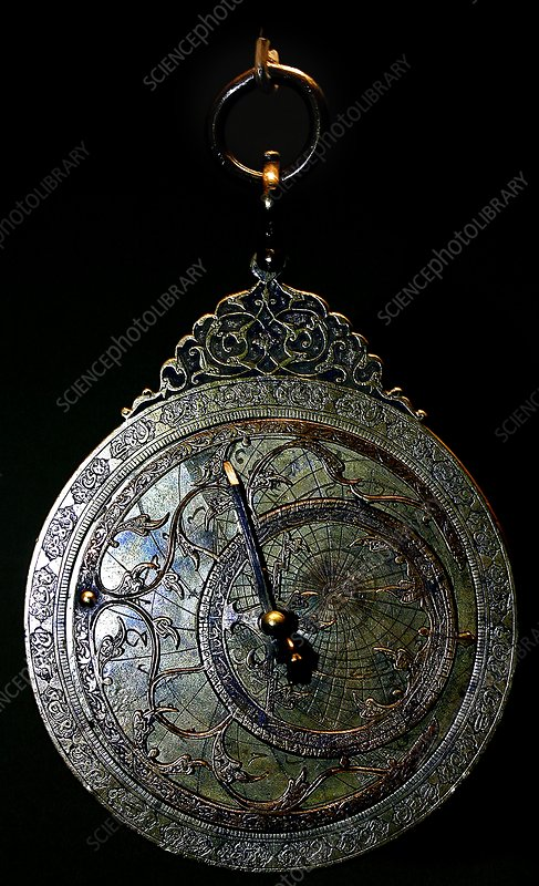 Ancient astrolabe