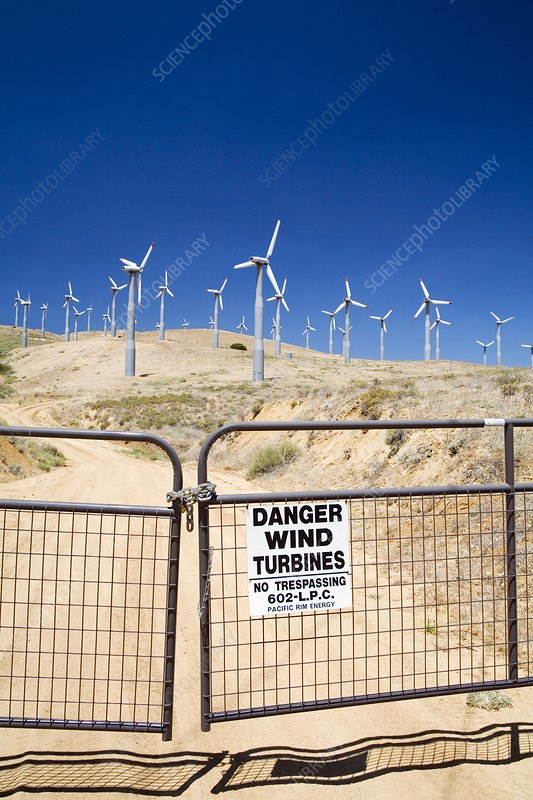Tehachapi Pass wind Farm, USA