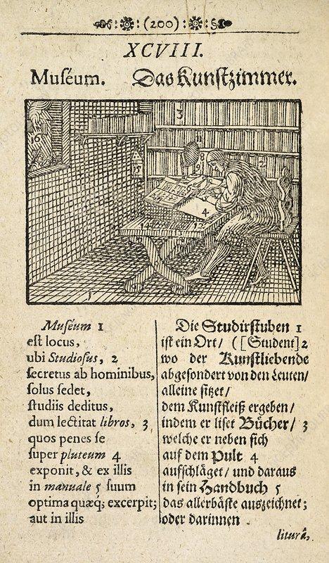 Page from 'Orbis Sensualium Pictus', 1659