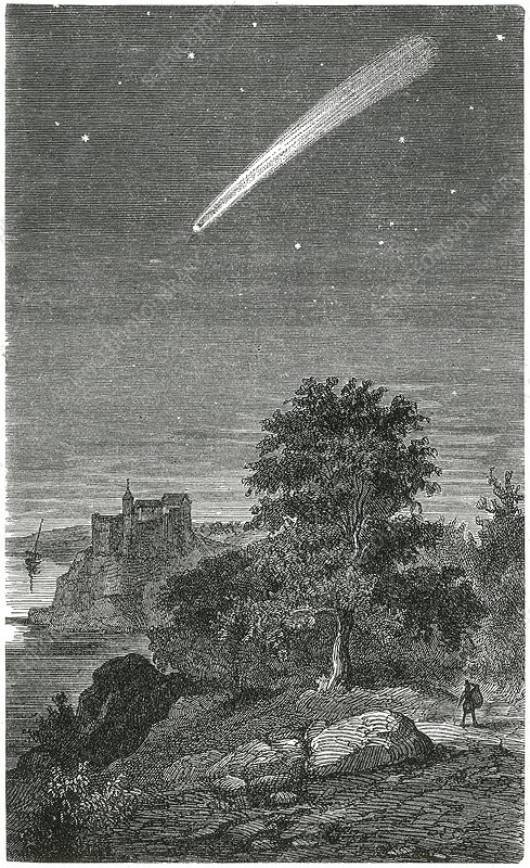 Great comet of 1811, artwork
