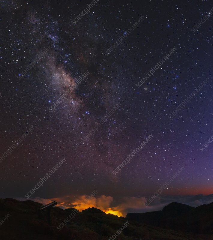 Night sky over La Palma