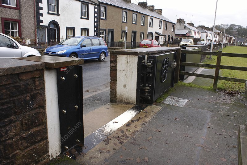 Floodgate in Appleby