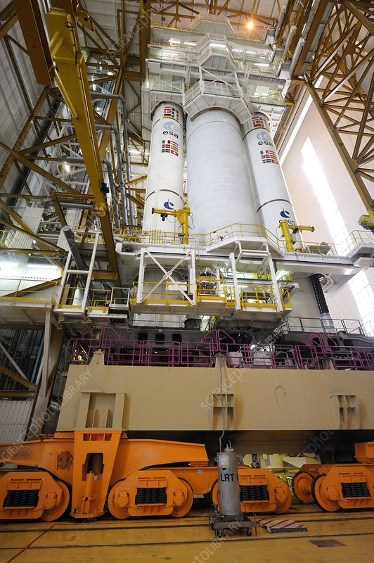 Ariane 5 rocket construction