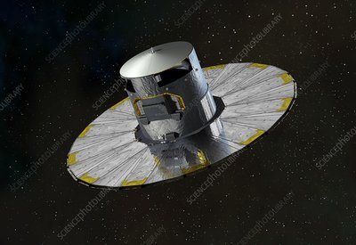 Gaia space probe, artwork