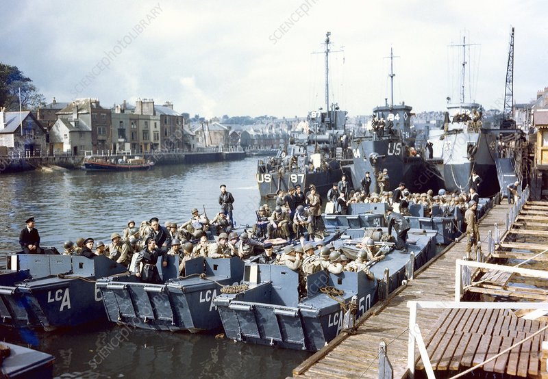 D-Day landings preparations, 1944