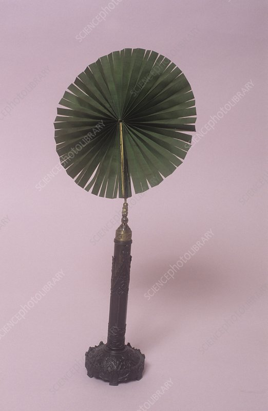 Fan with gothic decoration, circa 1830