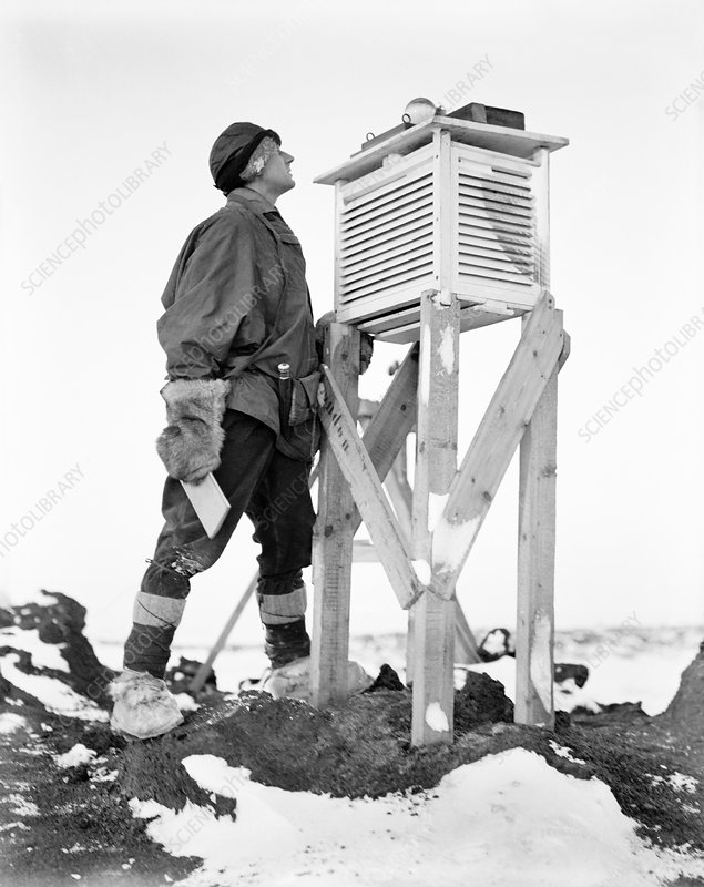 Antarctic meteorology research, 1911