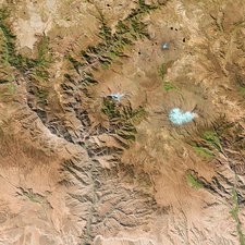 Cotahuasi Canyon, Peru, satellite image