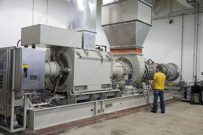 Methane gas turbine