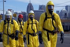 Hazardous materials cleanup training
