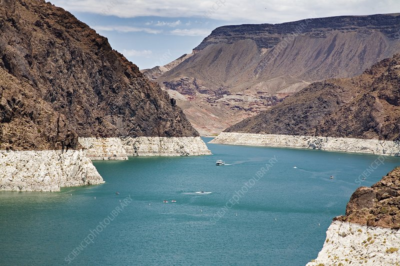 Lake Mead reservoir