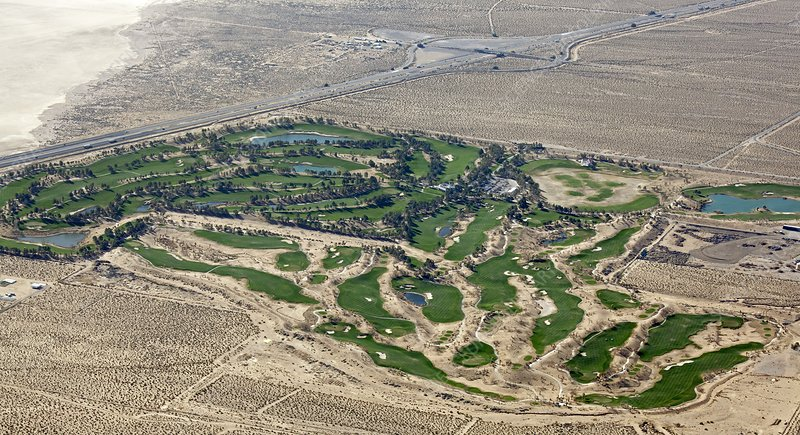 Primm valley golf course, USA