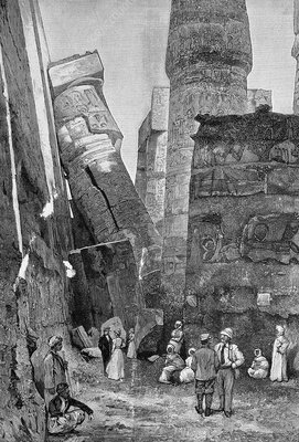 Temple of Karnak, artwork