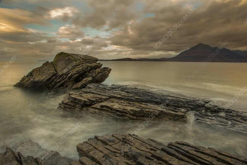 Elgol bay, Scotland, UK