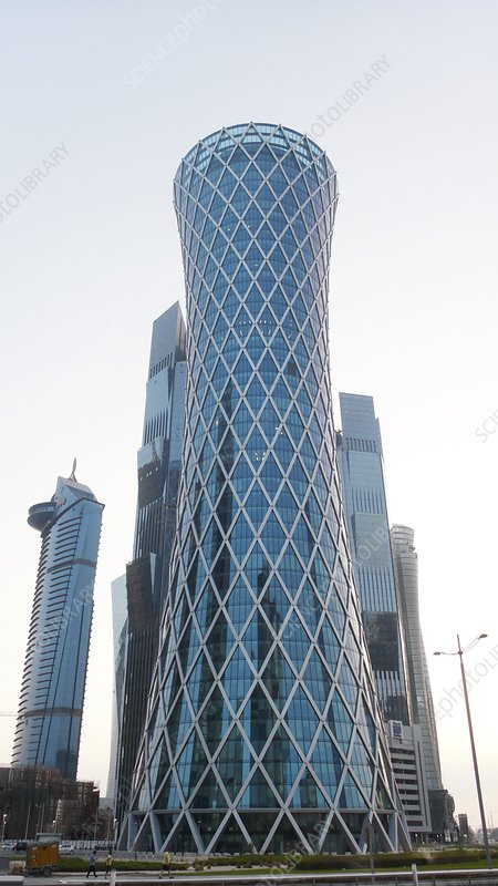 Tornado tower, Doha, Qatar