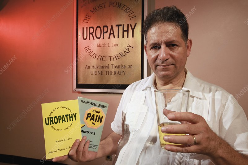 Urine therapy clinic, New York, USA