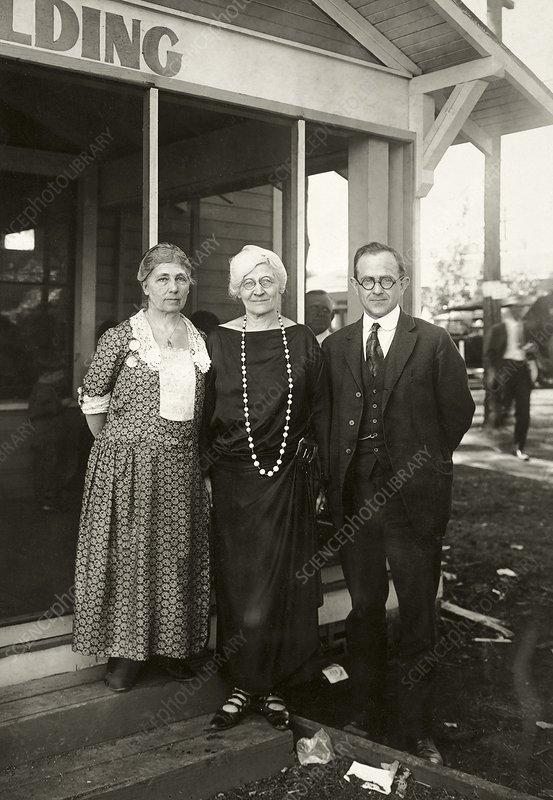 American Eugenics Society members
