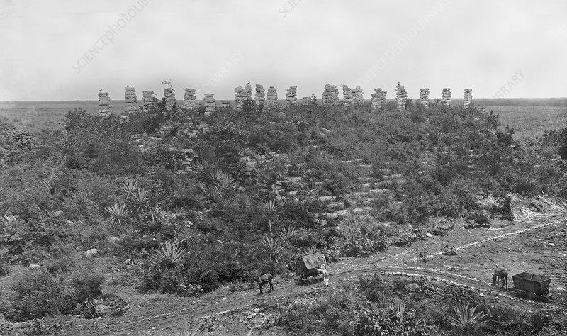Mayan ruins, 1910s