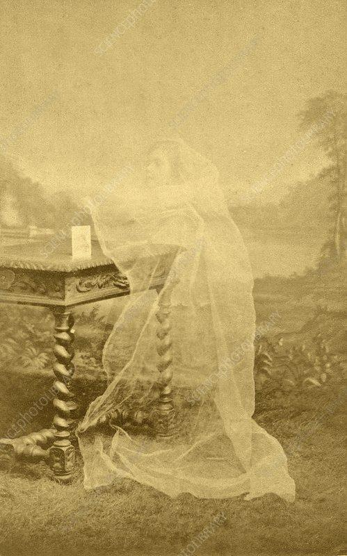 Spirit photograph, 1890s