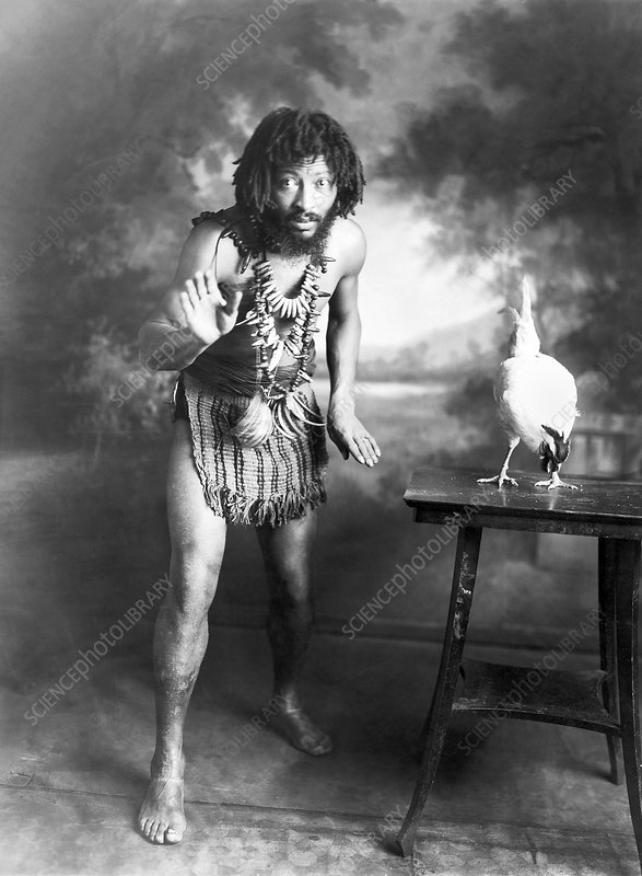 Circus performer Chief Pantagal, 1918