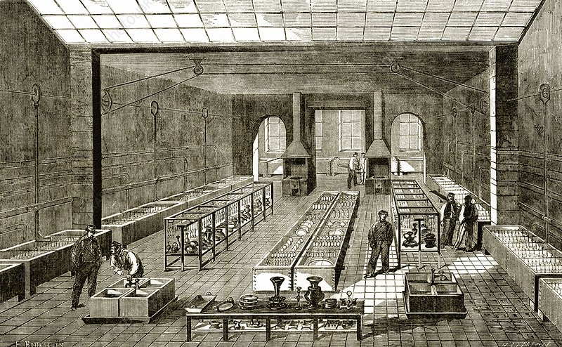 The Christofle Electroplating Factory