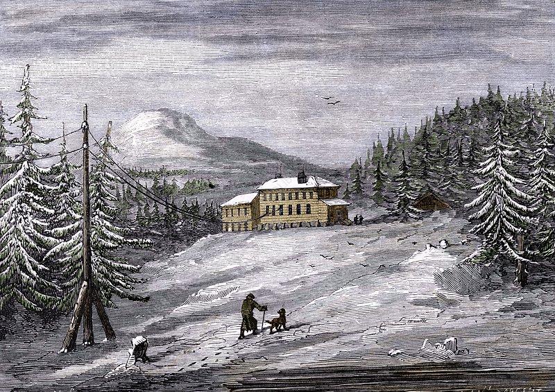 Telegraph House, Newfoundland