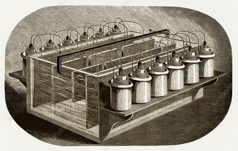 Electrotyping Tank for Woodblocks