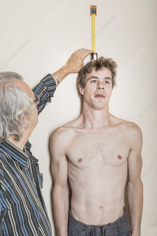 Measuring Height In A Man