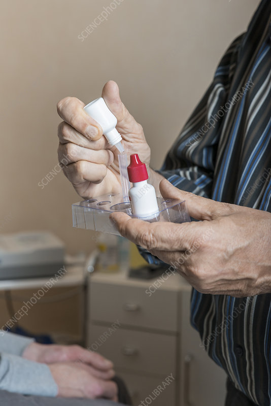 Oral Strep Test
