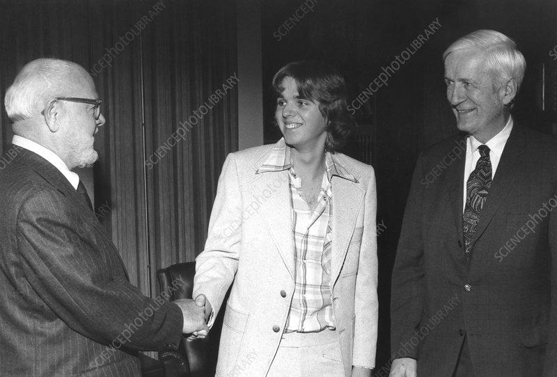 Inaugural LeRoy Apker Award, 1978