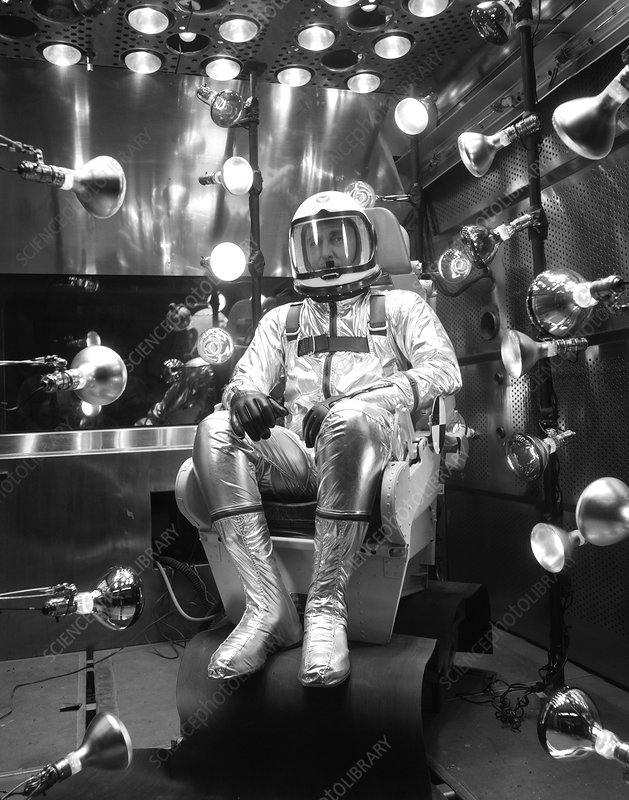 X-15 flight suit testing, 1960s