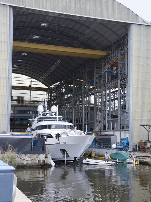 Luxury Yacht Construction