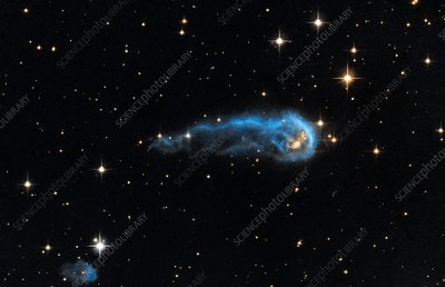 Early protostar, Hubble image