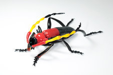 Beetle, glass sculpture