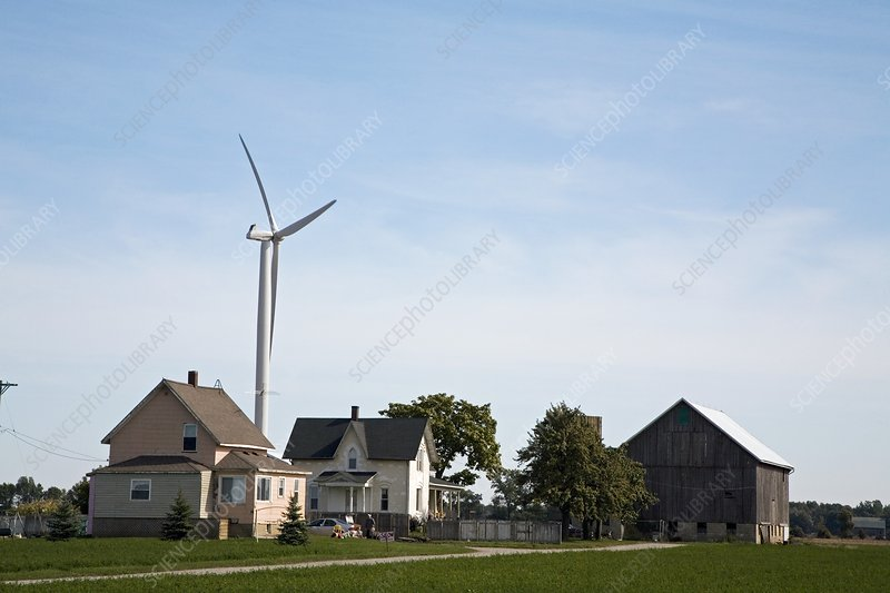 Wind Farm, Michigan, USA